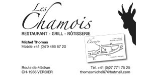 Les Chamois Verbier restaurant