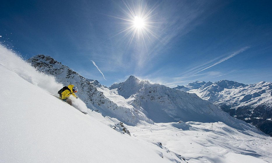 winter 2018 ski Verbier Switzerland